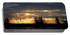 Portable Battery Charger featuring the photograph Sunset On Chobe River by Betty-Anne McDonald