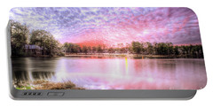 Sunset On Flint Creek Portable Battery Charger