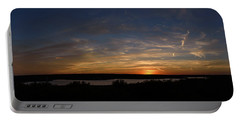 Sunset On Lake Georgetown Portable Battery Charger