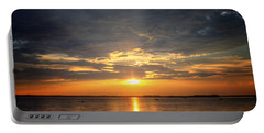 Sunset On Lake Hartwell Portable Battery Charger