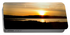 Sunset On Morrison Beach Portable Battery Charger