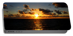 Sunset On The Atlantic Portable Battery Charger