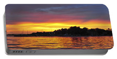 Sunset On The Bay Island Heights Nj Portable Battery Charger