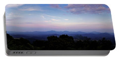 Sunset On The Blue Ridge Portable Battery Charger