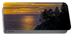 Sunset On The Edge Portable Battery Charger