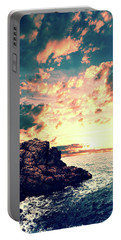 Sunset On The Horizon Portable Battery Charger