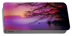 Sunset On The Lake Portable Battery Charger