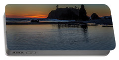 Sunset On The Oregon Coast Portable Battery Charger