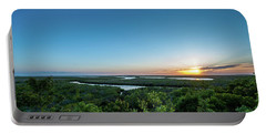 Sunset On The Outer Banks Portable Battery Charger