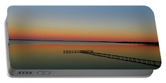 Sunset On The Pier Portable Battery Charger