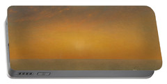 Sunset On The Sea, 1872 Portable Battery Charger
