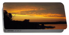 Sunset On The Shore  Portable Battery Charger