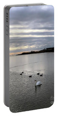 Sunset On The Water  Portable Battery Charger