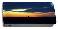 Sunset On Winter Solstice Eve Portable Battery Charger