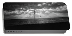 Sunset Ostia Beach Portable Battery Charger