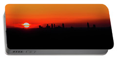 Sunset Over Atlanta Portable Battery Charger