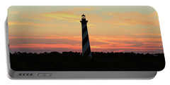 Sunset Over Cape Hatteras Light Portable Battery Charger