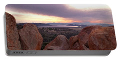 Sunset Over Diamond Valley Lake Portable Battery Charger