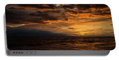Sunset Over Hawaii Portable Battery Charger by Chris McKenna
