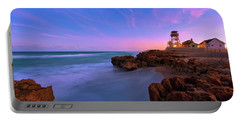 Sunset Over House Of Refuge Beach On Hutchinson Island Florida Portable Battery Charger