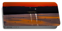 Portable Battery Charger featuring the photograph Sunset Over Lake Texoma by Diana Mary Sharpton