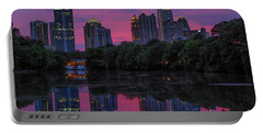 Sunset Over Midtown Portable Battery Charger
