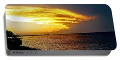 Sunset Over Mobile Bay Portable Battery Charger