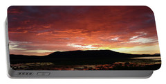 Sunset Over Mormon Lake Portable Battery Charger
