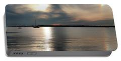 Sunset Over Narragansett Portable Battery Charger