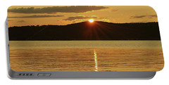 Sunset Over Piermont Portable Battery Charger