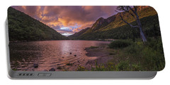 Sunset Over Profile Lake Portable Battery Charger
