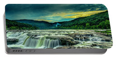 Sunset Over Sandstone Falls Portable Battery Charger