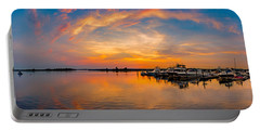 Sunset Over Shrewsbury Bay Portable Battery Charger