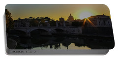 Sunset Over St Peters Portable Battery Charger