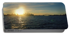 Sunset Over Sydney Harbour Portable Battery Charger