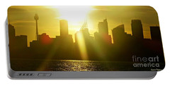Sunset Over Sydney Portable Battery Charger