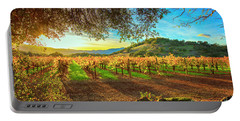 Sunset Over Napa  Portable Battery Charger