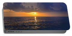 Portable Battery Charger featuring the photograph Sunset Over The Gulf Of Mexico by Carol Bradley