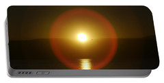 Sunset Over The Lake Portable Battery Charger