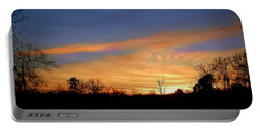 Sunset Over The Sabine 02 Portable Battery Charger