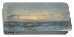 Sunset Over The Sea Portable Battery Charger