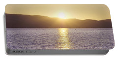 Sunset Over The Straits Portable Battery Charger