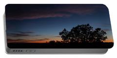 Sunset Over The Utah Desert Portable Battery Charger