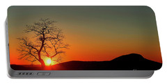 Portable Battery Charger featuring the photograph Sunset Over Virginia by Darren Fisher