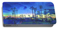 Sunset Palms Santa Monica Portable Battery Charger