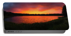 Sunset Panorama Portable Battery Charger