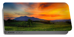 Sunset Pasture Portable Battery Charger