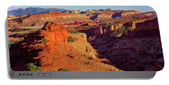 Portable Battery Charger featuring the photograph Sunset Point View by John Hight