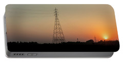 Sunset Pylons Portable Battery Charger