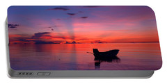 Sunset Rays Portable Battery Charger